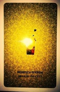 Oooh...ahhhh...Starbucks Gold Card!